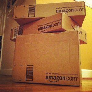 amazon boxes stock