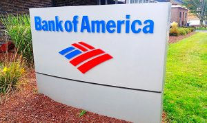 Bank of America Sign in Complex