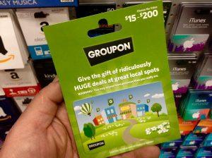 groupon giftcard