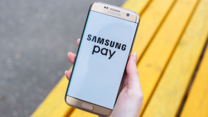 Samsung pay on mobile device