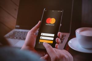 Mastercard login mobile device