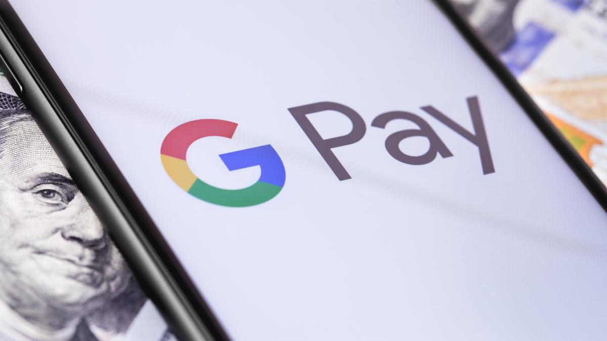 Google Pay over Ben Franklin